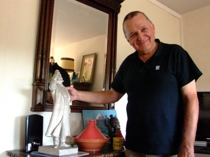 Je peux enfin toucher la statuette du tonton Marcel [Sculpteur Daniel Bacqué]