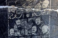 Le vitrail du cabaret des Noctambules, 1896.