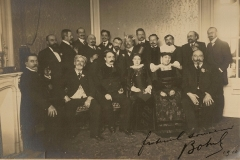Les chansonniers, dédicacée par Botrel 1910.