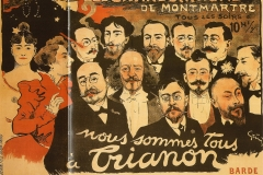 """Les Chansonniers de Montmartre – """"Nous sommes tous au Trianon"""", 1897"""