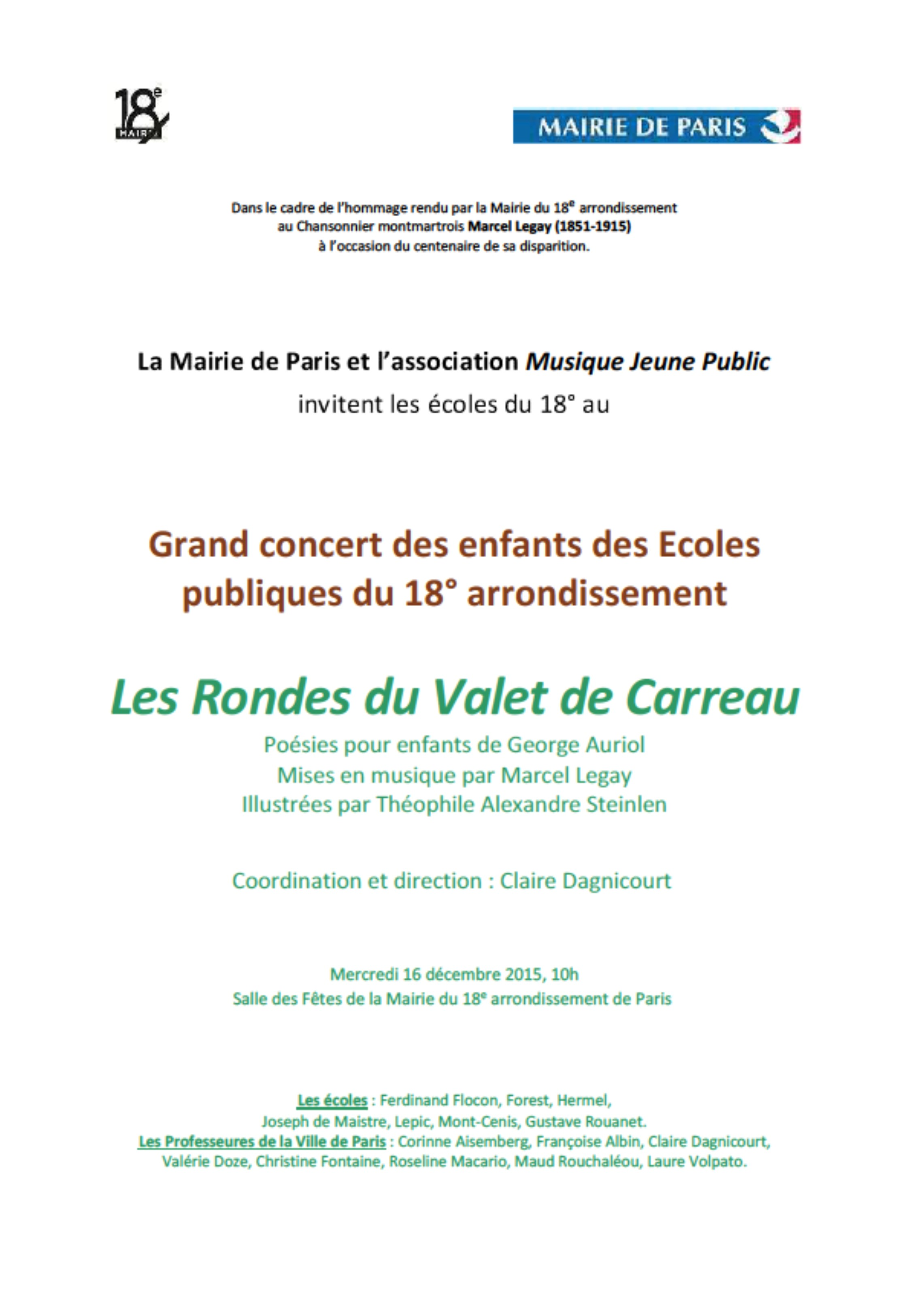 2015-12-16_Annonce_Spectacle Le Valet de Carreau_Mairie du 18e_Paris