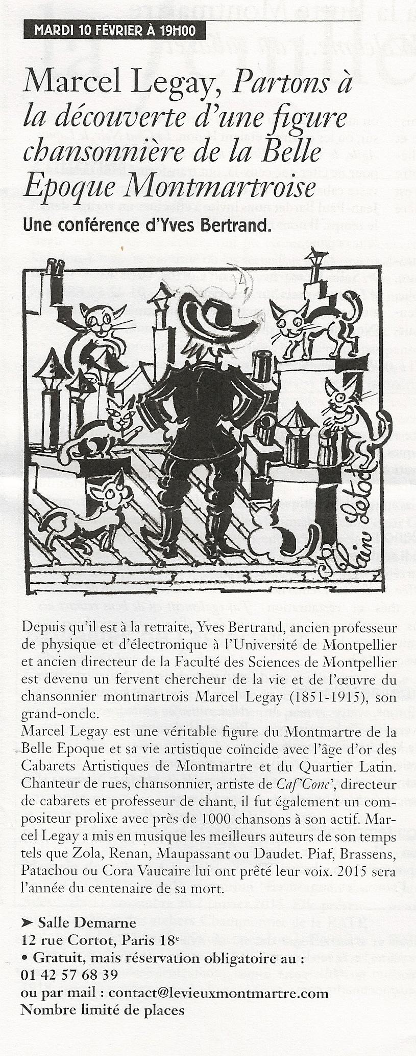 2015_02-10_Annonce dans Bulletin Vieux Montmartre_Conférence-chantée_Vieux Montmartre_1_Paris