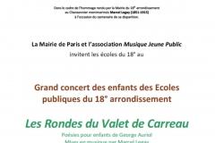 2015-12-16_Annonce_Spectacle Le Valet de Carreau_Mairie du 18e_Paris