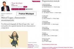 2017-09-10_Annonce Web_Emission Radio_France Musique_Tour de Chant_Marcel Legay_Martin Pénet_Paris