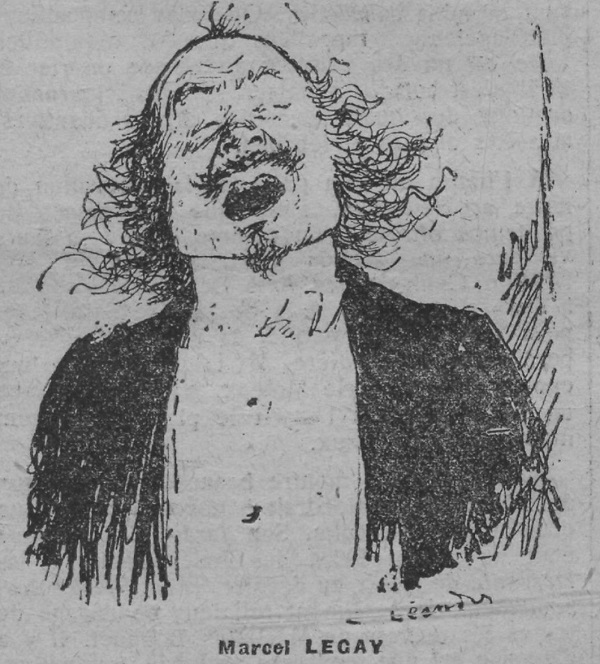 Marcel Legay par Charles Léandre, n.d.