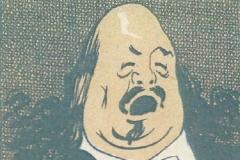 """Marcel Legay chantant, Programme du cabaret """"Le Carillon, n.d."""