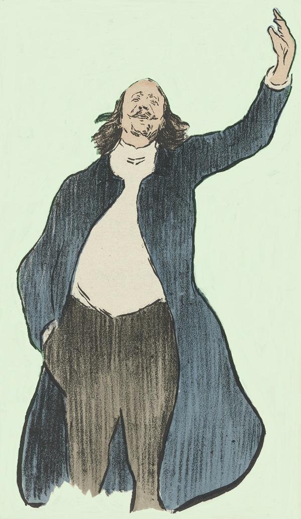 Marcel Legay par Henri-Gabriel Ibels, 1892.