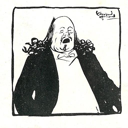 Marcel Legay par Edouard Gérard, 1901.