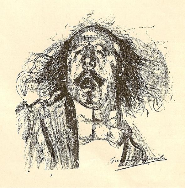 Marcel Legay par Guirand de Scévola, 1898.