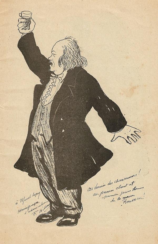 Marcel Legay par Fernand Billard, 1912