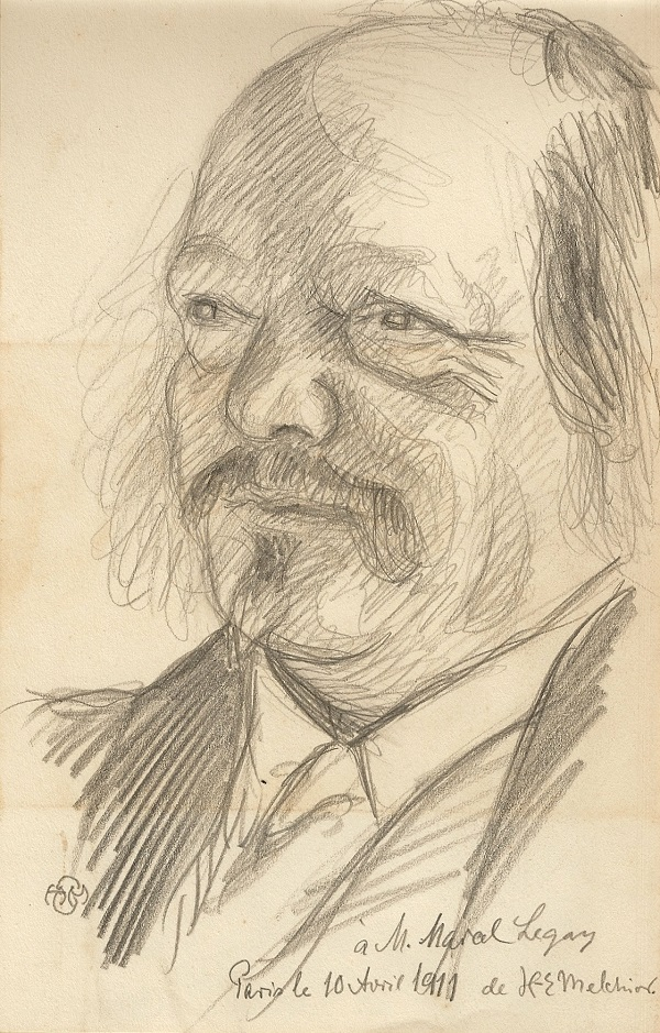Marcel Legay par Melchior, 1911