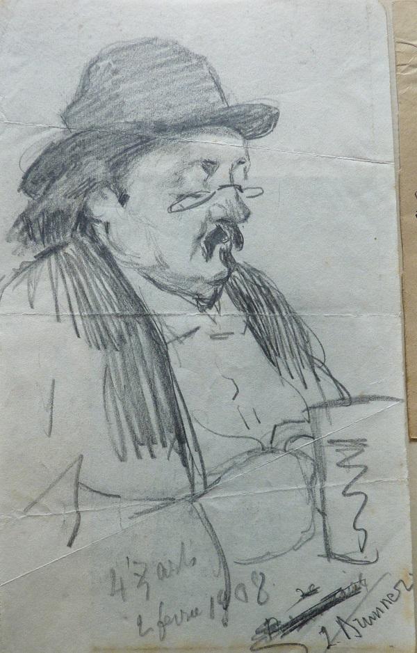 Marcel Legay par Zygmunt Leopold Brunner, 1908 [1]