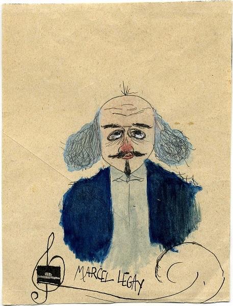 Marcel Legay par Gaston Couté, vers 1909 [3].