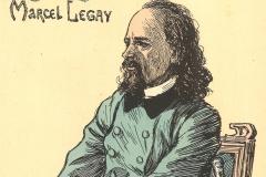 Marcel Legay par Théophile Alexandre Steinlen, 1889.