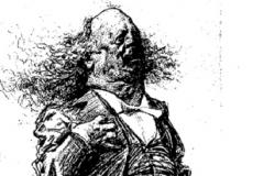 Marcel Legay par Charles Léandre, 1900.