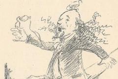 Marcel Legay par Adolphe Léon Willette, 1886. [2]