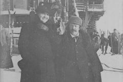 Anna Norrie et Marcel Legay à Christiania, 1910.