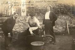 Chez Madame Labielle, 1906.