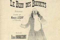 Le bleu des bleuets (Joubert, Edt.)