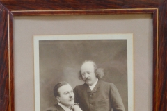 Marcel Legay et Antoine Bourgade, 1900, photo de J-B. Chabert [1]