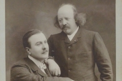 Marcel Legay et Antoine Bourgade, 1900, photo de J-B. Chabert [2]