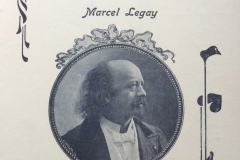 Marcel Legay, 1903, photo de Louis Geisler