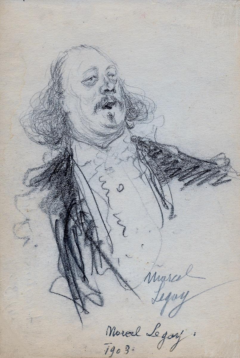 Marcel Legay par Jean Matet, 1903.