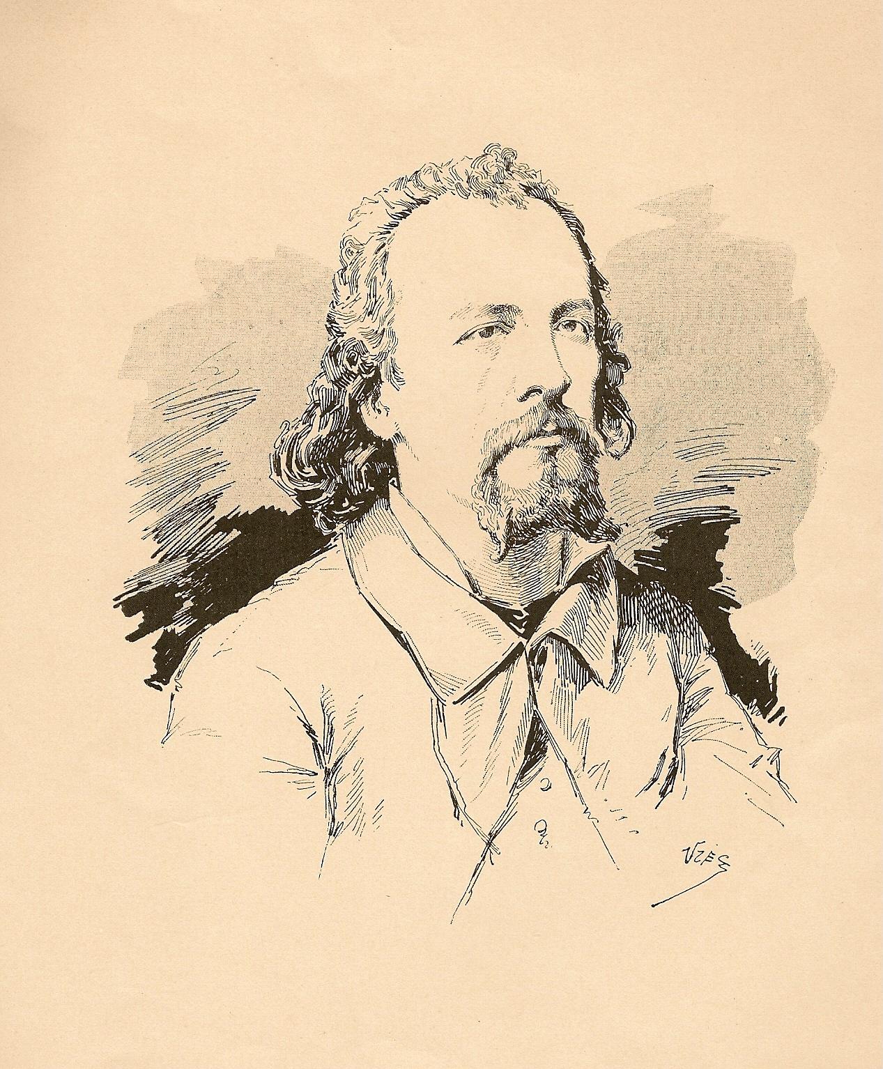 Marcel Legay par Uzès, 1886.