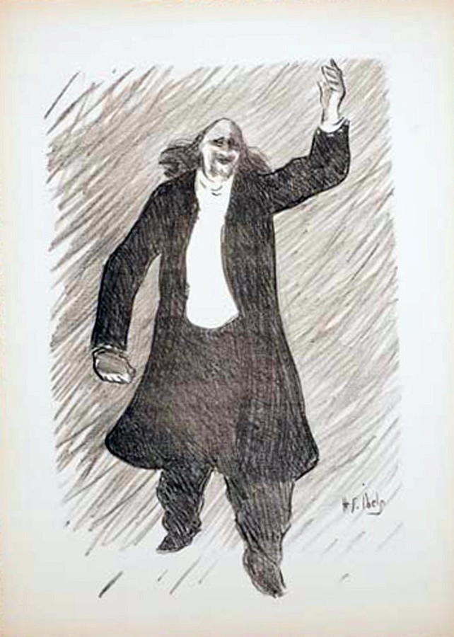 Marcel Legay par Ibels, 1893.
