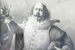 Marcel Legay en Cyrano, par Mendez, vers 1896