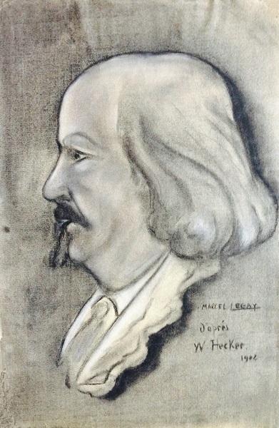 Marcel Legay par Hecker, 1902.