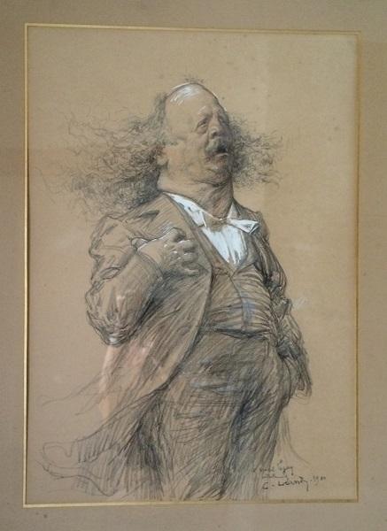 Marcel Legay par Léandre, 1902.