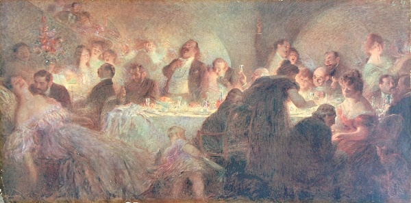 Marcel Legay par Léandre, vers 1902 ?.