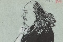 Marcel Legay par Marevéry, 1909.