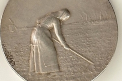 """Médaille de """"La Betterave"""" [verso] décernée à Marcel Legay, n.d."""