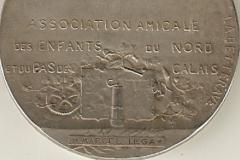 """Médaille de """"La Betterave"""" [recto] décernée à Marcel Legay, n.d."""
