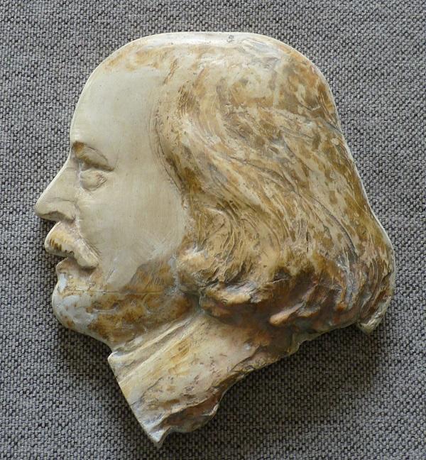 Marcel Legay, Ronde-bosse frontale de Daniel Bacqué (?), n.d.