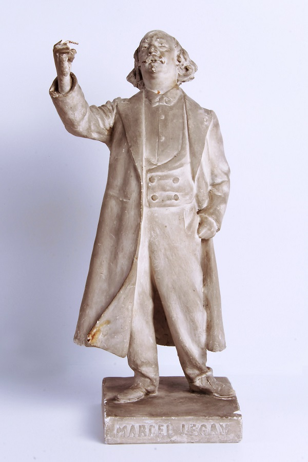 Marcel Legay, statuette de Daniel Bacqué (vue de face), n.d.