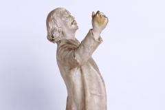 Marcel Legay, statuette de Daniel Bacqué (profil droit), n.d