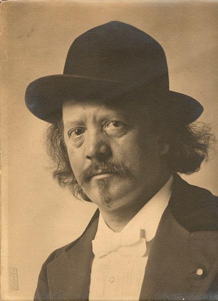 Marcel Legay, portrait photographique, 1905