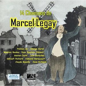 CD 12 Chansons de Marcel Legay
